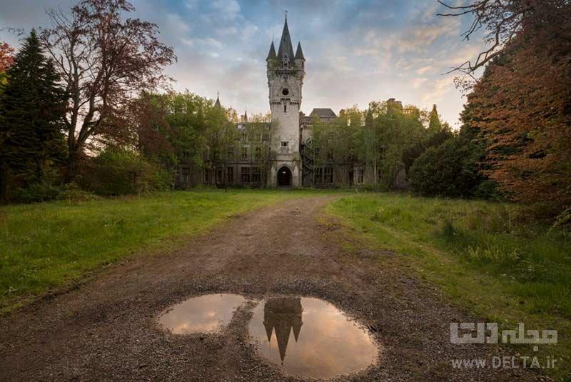 قلعه متروکه میراندا در نامور جاذبههای بلژیک