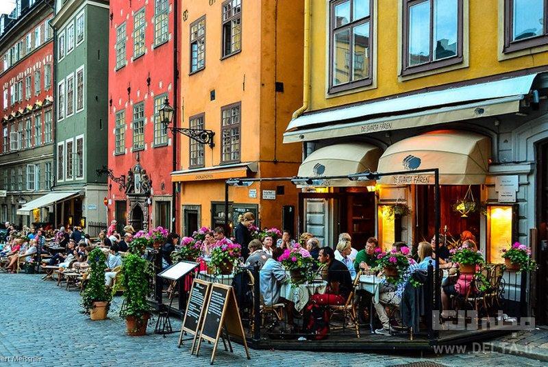 محله قدیمی جاذبه های گردشگری استکهلم