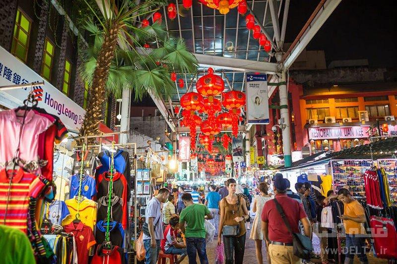 محله چینیها جاهای دیدنی کوالالامپور