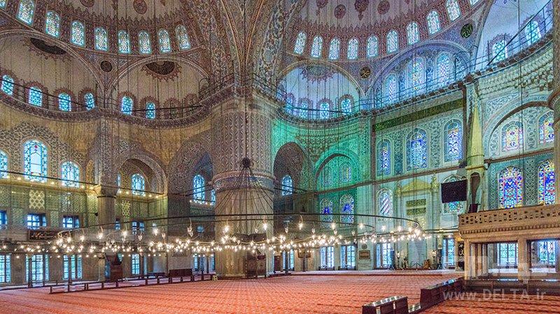 مسجد آبی با 6 مناره