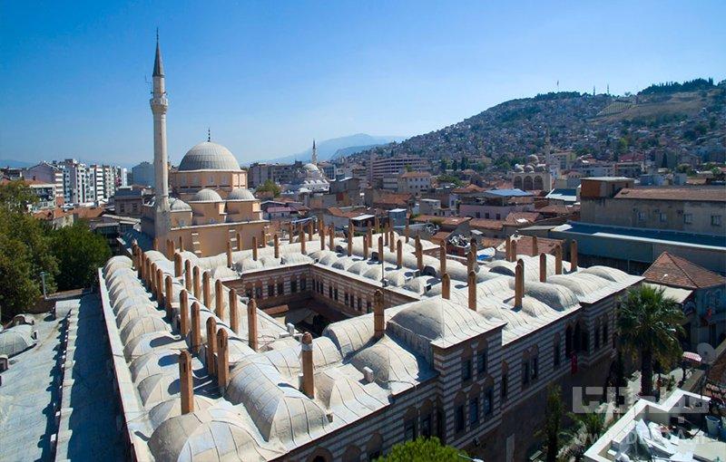 مسجد حصار جاهای دیدنی ازمیر