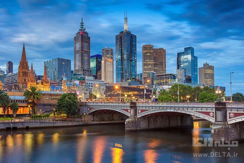 ملبورن جاذبه های استرالیا