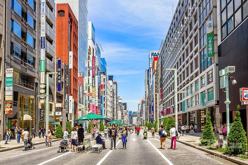 منطقه گینزا جاذبه های گردشگری توکیو