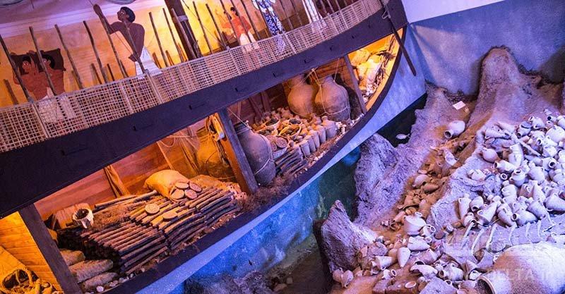 جاذبه های بدروم موزه باستان شناسی زیر آب Museum of Underwater Archaeology