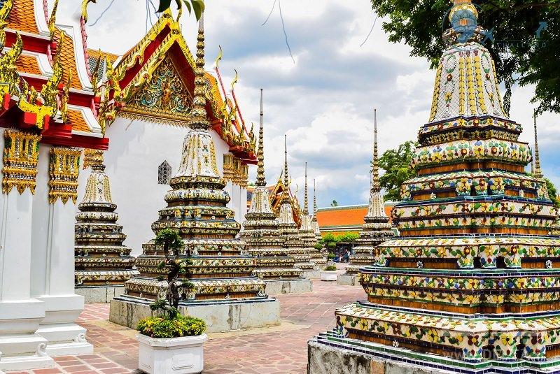 معبد بودای پنهان دیدنی های بانکوک