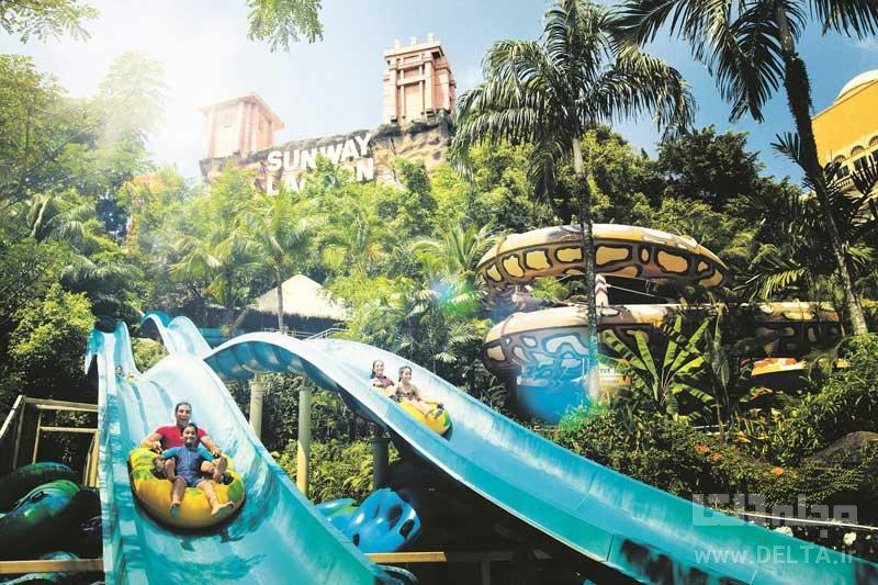 پارک آبی سان وی لاگون جاهای دیدنی کوالالامپور