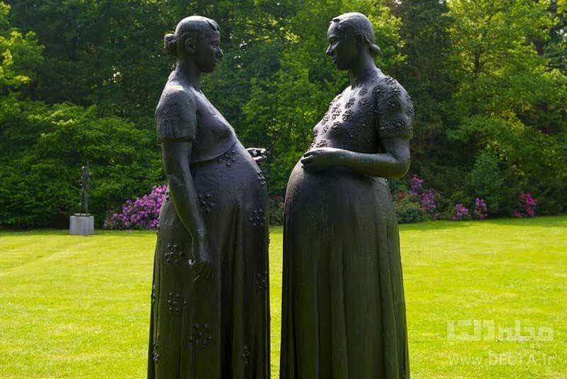 پارک روباز مجسمه های میدلهیم جاذبههای بلژیک