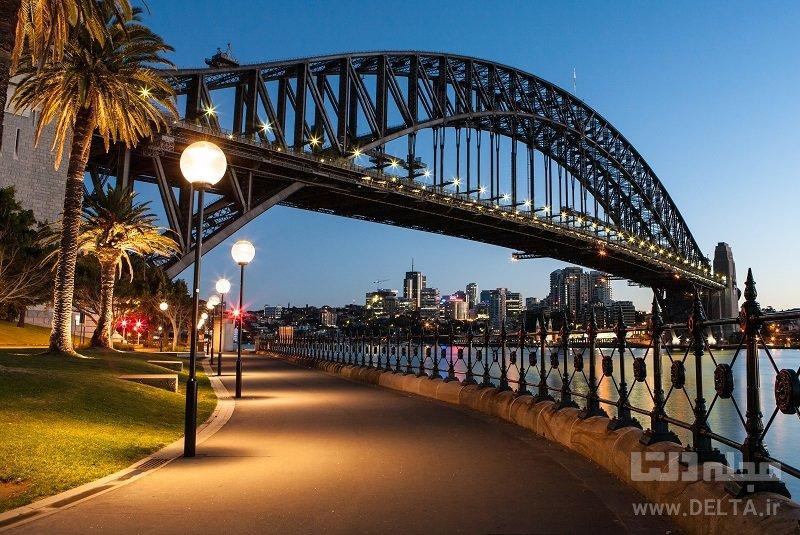 پل بندرگاه جاذبههای سیدنی
