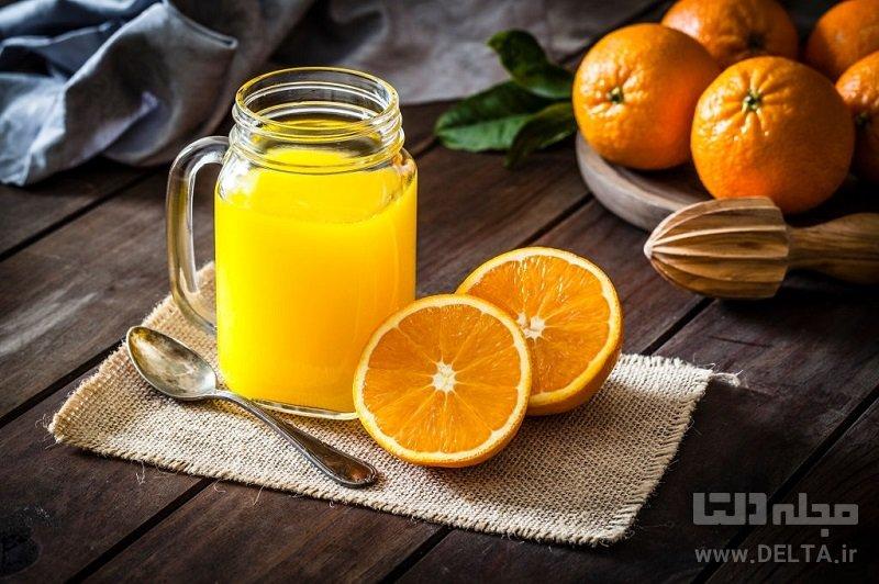 چربی سوزی با پرتقال