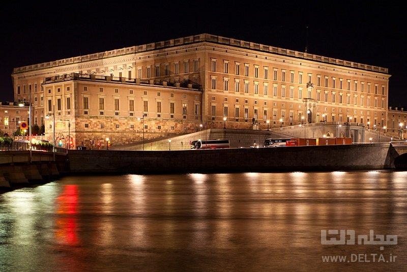 کاخ سلطنتی جاذبه های گردشگری استکهلم