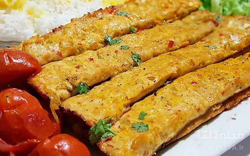 کباب مرغ تبریزی