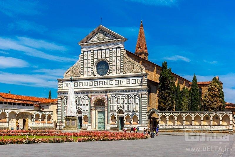 کلیسای سانتا ماریا نوولا جاذبههای فلورانس ایتالیا