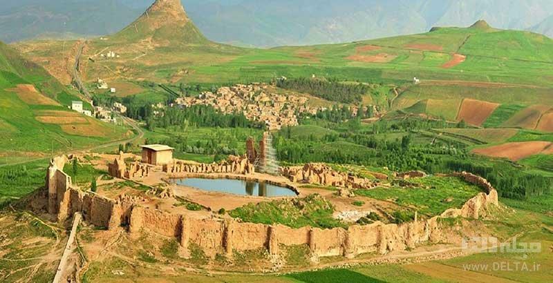 افسانههای دریاچه تخت سلیمان تکاب