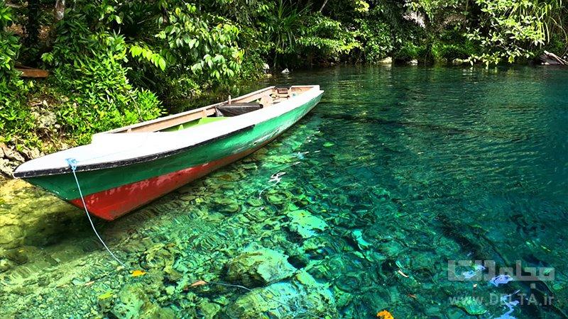 دریاچه لابوان کرمین جاذبه های گردشگری اندونزی