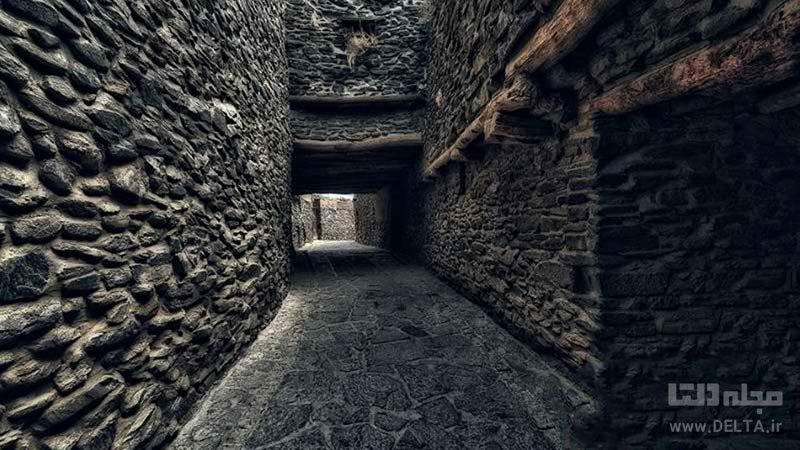 معماری و ساختار جذاب روستای ورکانه همدان