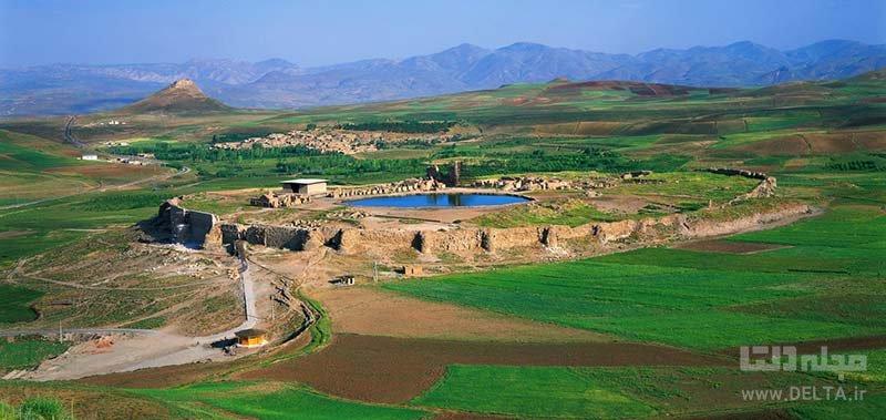 کمی درباره دریاچه دریاچه تخت سلیمان تکاب بیشتر بدانیم