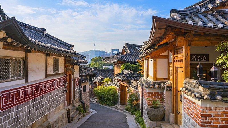 دهکده بوکچون هانوک دیدنی های کره جنوبی