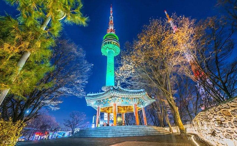 برج سئول دیدنی های کره جنوبی