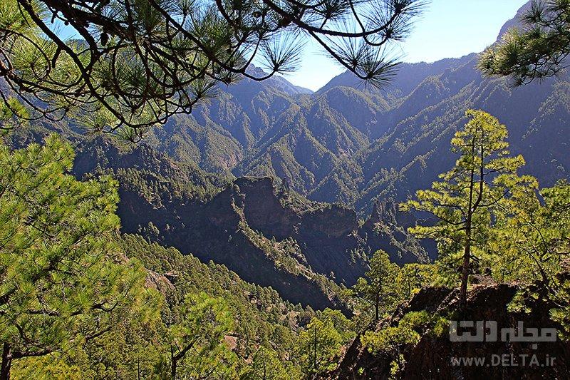 کالدرا پارک ملی جزایر قناری
