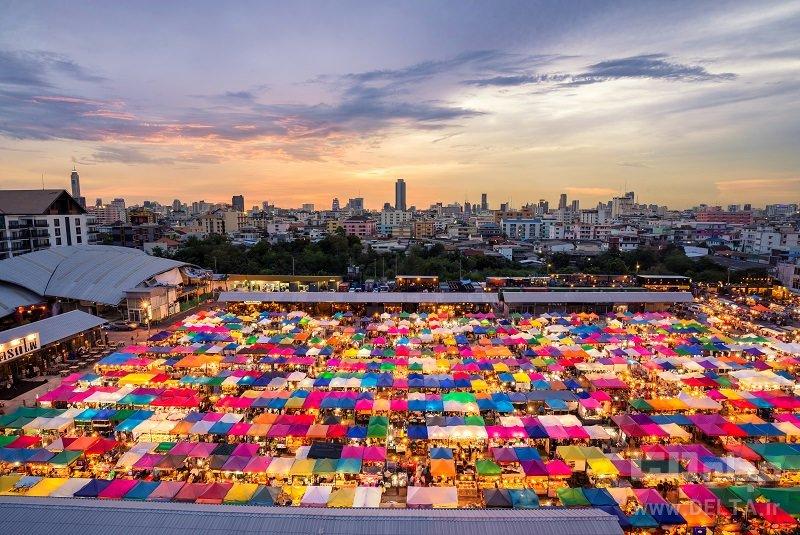 بازار چاتو چاک بانکوک