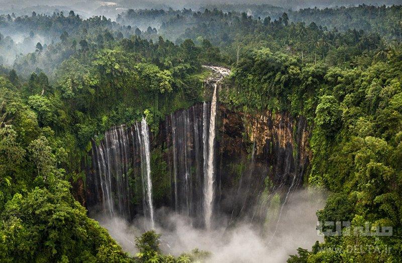 آبشار کوبان سوو Coban Sewu Waterfall