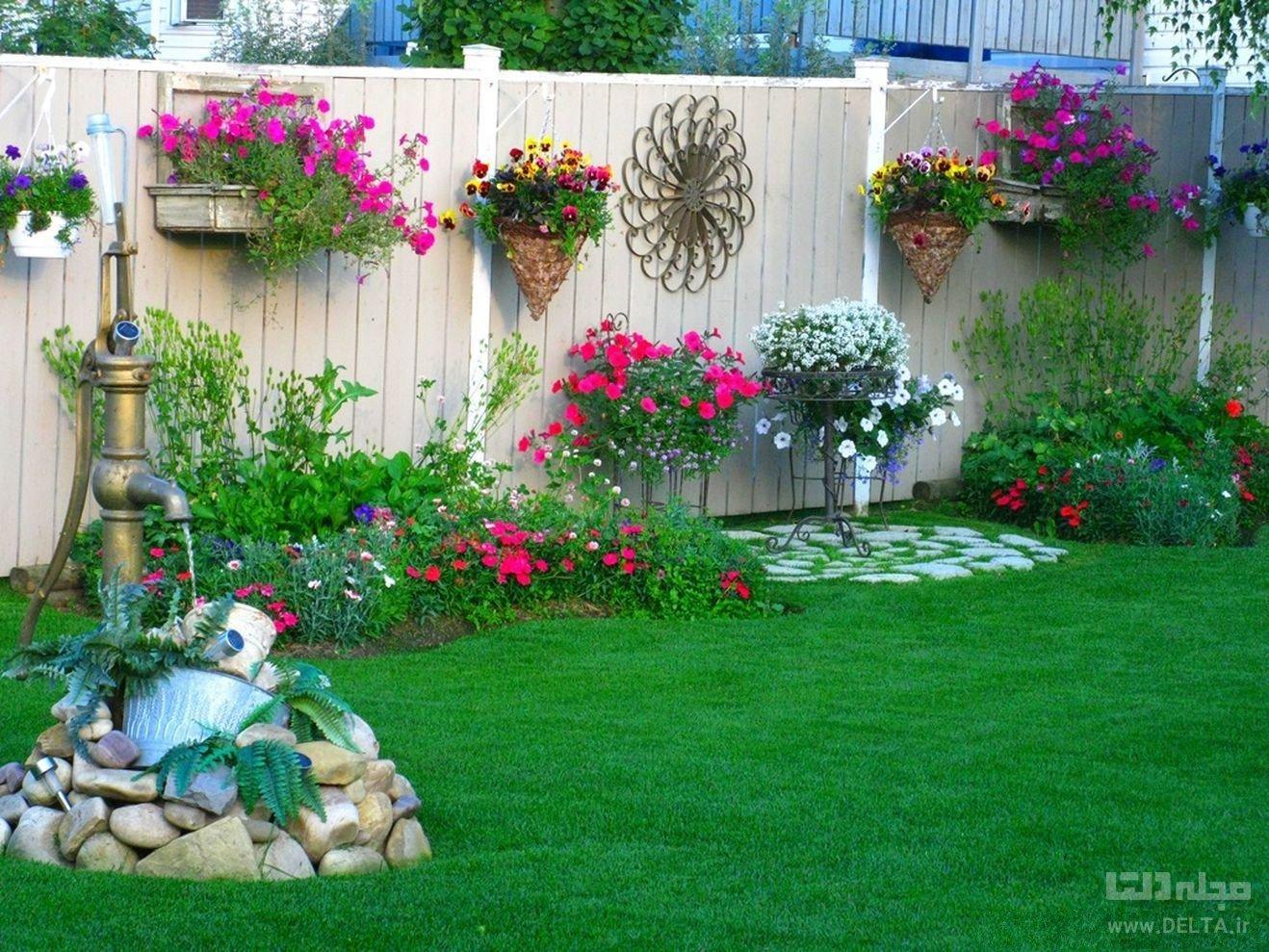 تزیین باغچه