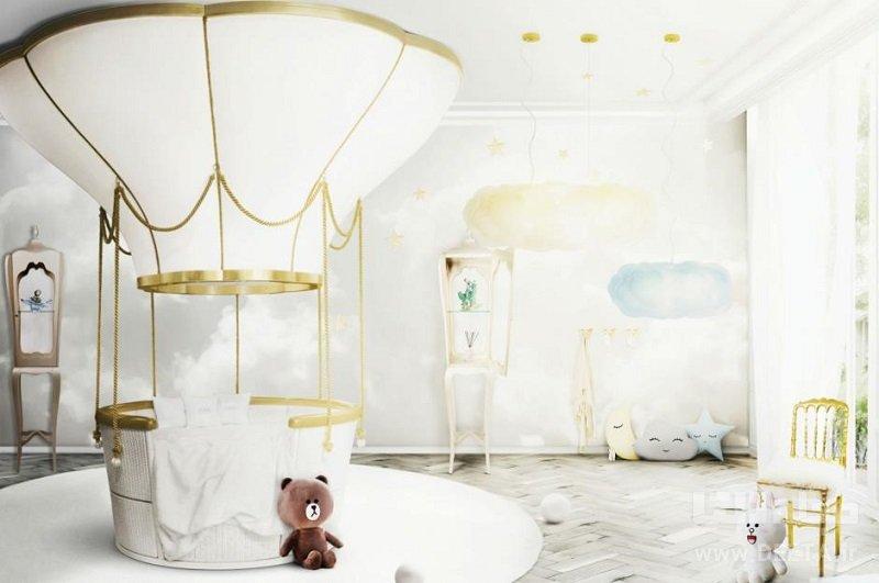 تختخواب فانتزی مدل بالون