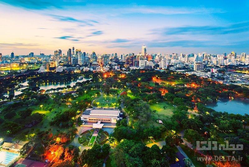 پارک لومفینی دیدنی های بانکوک