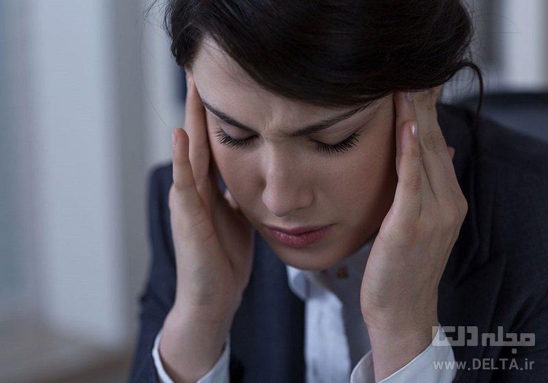 كاهش شدت سردرد ميگرني