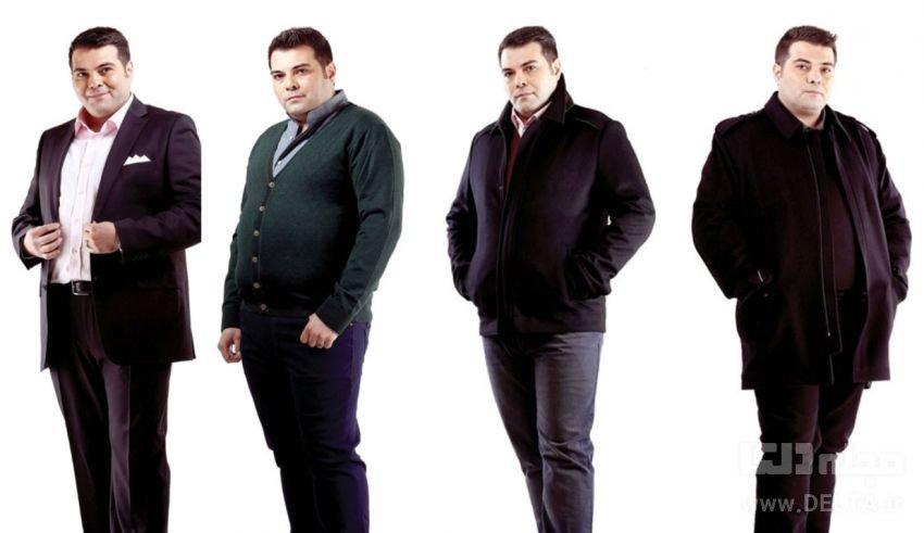 لباس مناسب مردان چاق