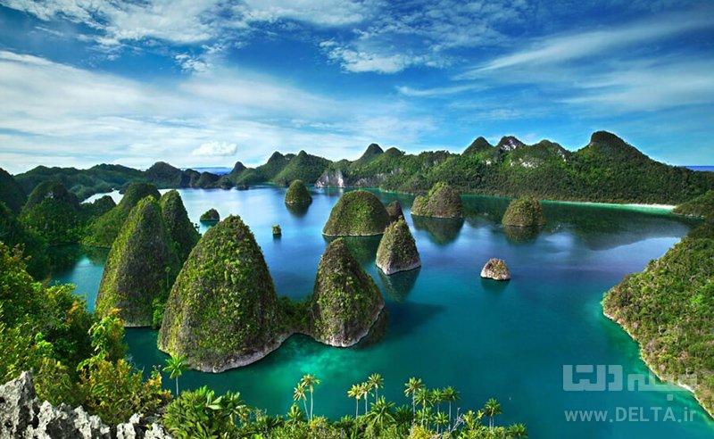 راجا امپات | Raja Ampat جاذبه های گردشگری اندونزی