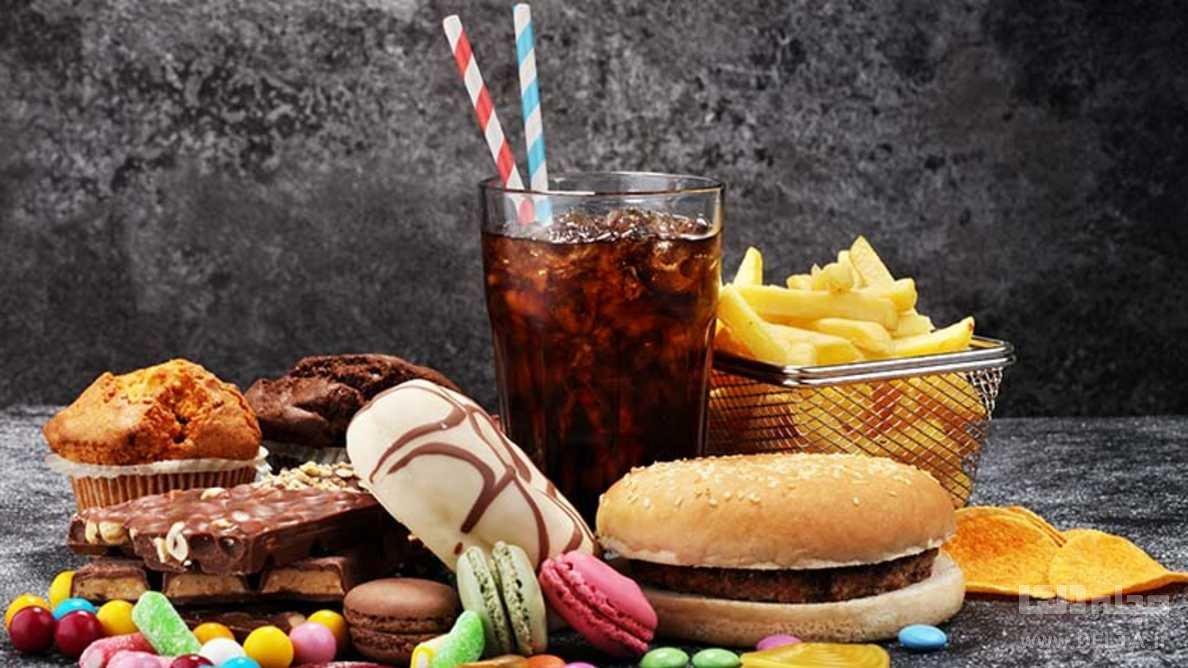مصرف غذاهای ناسالم
