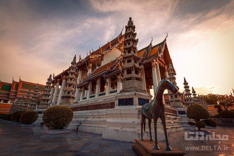 معبد وات سوتات دیدنی های بانکوک