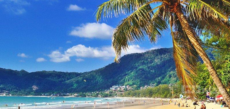 ساحل پاتونگ طولانیترین ساحل پوکت
