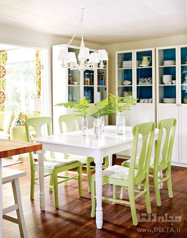 دکوراسیون آشپزخانه تابستانی