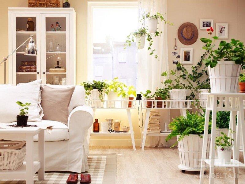 رنگهای روشن در دکوراسیون تابستانی منزل
