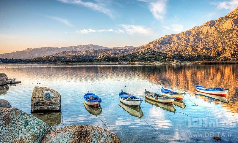 دریاچه های ترکیه