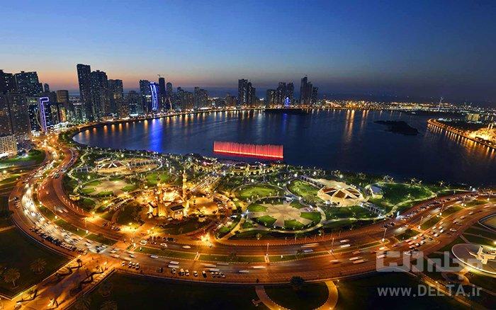 دیدنی های شارجه آبنمای المجاز –Al Majaz Waterfront