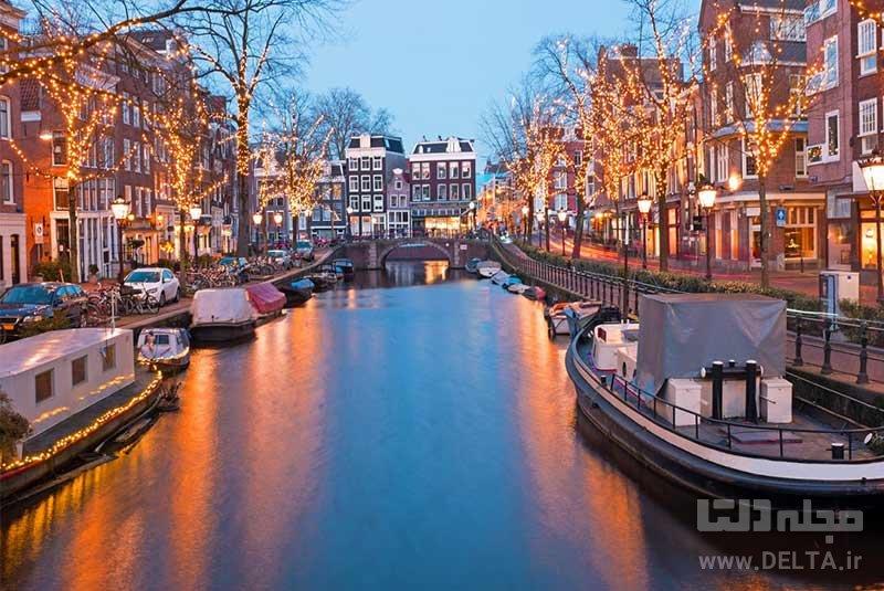 آمستردام برترین جاذبه های گردشگری