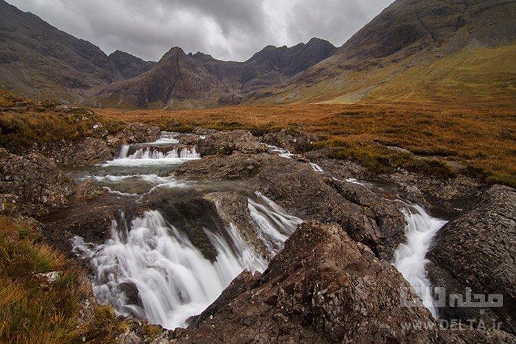 استخر رویایی (Isle of Skye ،(Fairy Polls، اسکاتلند جاذبه های گردشگری عجیب دنیا
