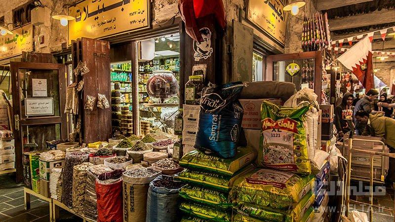 بازار دوحه جاذبه های گردشگری دوحه