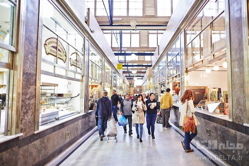 بازار ملکه ویکتوریا جاذبه های گردشگری ملبورن