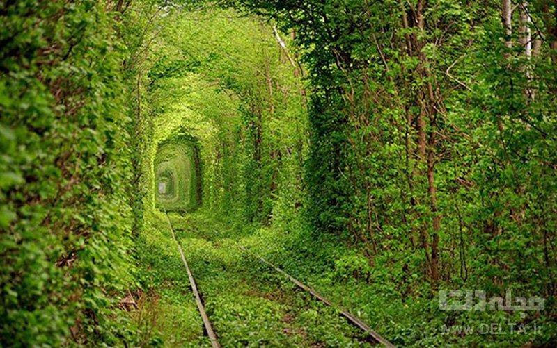 تونل عشق اوکراین جاذبه های گردشگری