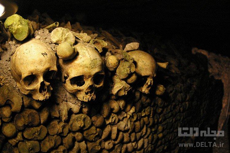 دخمههای پاریس (Catacombs of Paris)، فرانسه