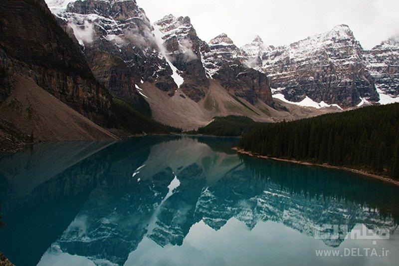 دره Ten Peaks، آلبرتا، کانادا