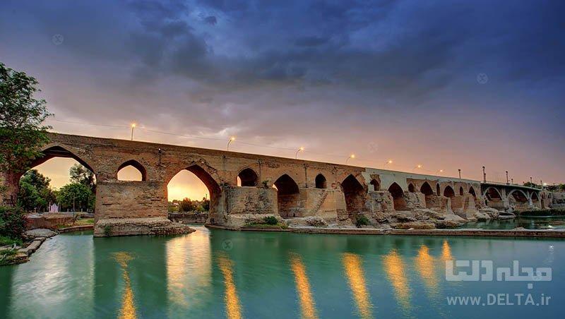 پل دزفول جاذبه های گردشگری ایران