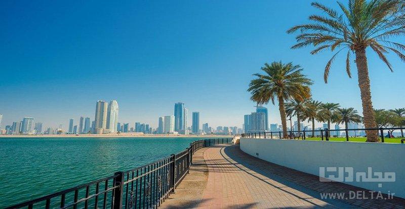 ساحل الممزار سواحل دبی