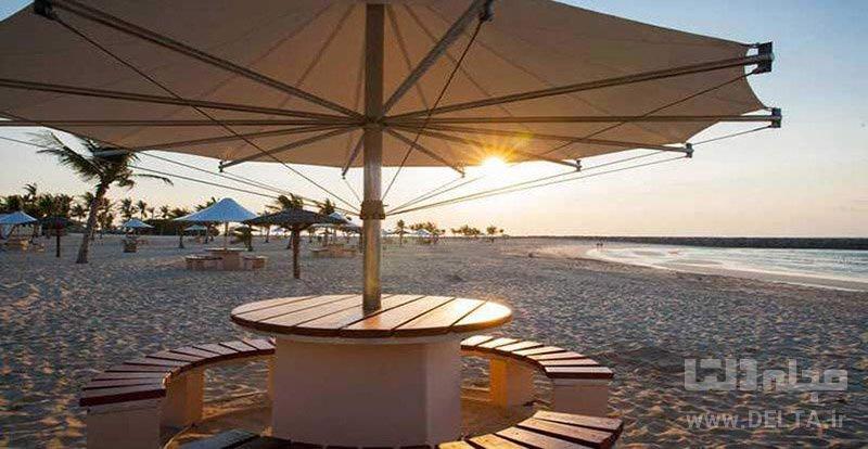 ساحل لا مر سواحل دبی