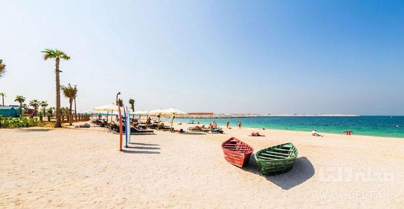 ساحل مارینا سواحل دبی