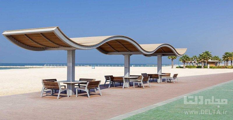 ساحل کایت سواحل دبی